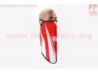 """Маска лица пылезащитная """"HONDA"""", с красным рисунком, GE-103 [Китай]"""