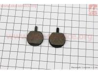 Тормозные колодки диск. тормоз к-кт (Hayes MX2,3, Sole, Artec ADC-01) [Китай]