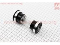 """Каретка """"Press-Fit"""" ROAD BB86/MTB BB91мм (Ø41мм), под интегрированную ось 24мм, KL-102A [KENLI]"""