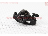 Тормозной суппорт передний (адаптер F160/R140мм), черный BR-TX805F [SHIMANO]