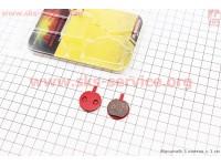 Тормозные колодки диск. тормоз к-кт (Hayes MX2,3, Sole, Artek ADC-4.1, ADC-4.7), YL-1025 [Andson]