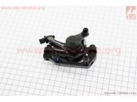 Тормозной суппорт задний (адаптер F180/R160мм), черный MD-M280 [SPELLI]