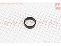 Кольцо вилки  1-1/8 - h10мм, черное [Китай]