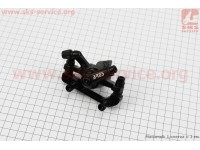 Тормозной суппорт задний (адаптер F180/R160мм), черный MDA11 [ARES]