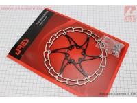 Тормозной диск 180мм, под 6 болтов, черный SG18 [ARES]