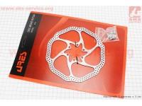 Тормозной диск 160мм, под 6 болтов, SX16 [ARES]