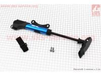 Насос MTB алюминиевый с Т-ручкой, синий SPM-196A [SPELLI]