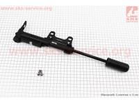 Насос МТВ пластмассовый с узким манометром, черный  SPM-141P [SPELLI]