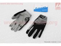 """Перчатки M-черно-серые, с мягкими вставками под ладонь """"GIANT"""" [Китай]"""