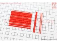 Светоотражатели на спицы 5х75мм, 12шт к-кт, красные JY-1201 [Китай]