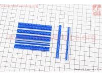 Светоотражатели на спицы 5х75мм, 12шт к-кт, синие JY-1201 [Китай]