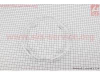 Защита шатуна на 4 отверстия 48Т, пластмассовая, прозрачная MYG-01 [PROWHEEL]
