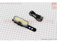 Фонарь передний, Li-ion 3.7V 600mAh зарядка от USB, влагозащитный, JY-6055F [Китай]