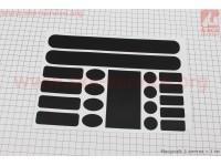Защитная пленка на раму (0,15мм), черная [Китай]