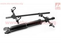 Подставка под 2 велосипеда регулируемая высота 100-150 см, регулируемый угол наклона велосипеда HS-QX-006G [Китай]