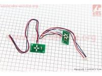 Платы зарядки батареи 6 диодов и включения 4 диода, к-кт [Китай]