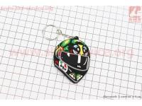"Брелок шлем ""AGV"", резиновый 6х5 [Китай]"