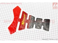 Наклейка защитная на бак топливный, красная XY0101 [Китай]