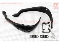 Viper - V200R пластик - защита для рук лев., прав. к-кт 2шт, ЧЕРНЫЙ [Китай]