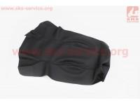 Чехол сидения (эластичный, прочный материал) черный, тип 2 [Украина]