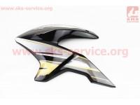 Loncin- LX200GY-3 пластик - бака топливного левый, ЧЕРНЫЙ [Китай]