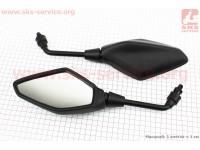 Loncin- LX300-6 Зеркала черные к-кт, м10 [Китай]