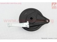 Loncin- LX200GY-3 Панель тормозная задняя с колодками , ЧЕРНЫЙ [Китай]