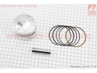 Loncin- LX200GY-3 Поршень, палец, кольца к-кт CG200сс 63мм STD (палец 15мм) (без штопорных колец) [Китай]