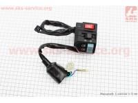 Loncin- JL200GY-2С Блок кнопок на руле правый (мама) [Китай]