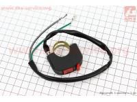 Кнопка остановки двигателя c проводом на руль, два провода 168F/170F/173F/177F/182F/188F/190F Тип №3 [Китай]