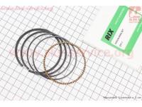 Кольца поршневые 168F 68мм +0,25 ( изготовлены по технологии HONDA) [RIX]