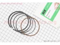 Кольца поршневые 168F 68мм +0,75 ( изготовлены по технологии HONDA) [RIX]