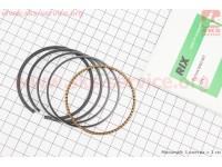 Кольца поршневые 170F 70мм +0,25 ( изготовлены по технологии HONDA) [RIX]