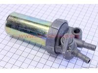 Кран топливный + фильтр в металлическом корпусе Тип №1 [Китай]
