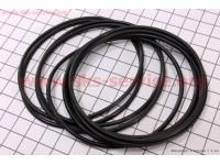 Кольцо (манжет) уплотнительное гильзы 75мм, чёрное R175A, к-кт 10шт [Viper]