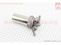 Кран топливный + фильтр в металлическом корпусе Тип №2 [Китай]