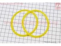 Кольцо (манжет) уплотнительное гильзы 80мм, желтое R180NM [Китай]