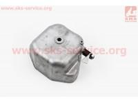 Крышка головки цилиндра (клапанов), алюминиевая R195NM [Китай]