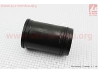Гильза цилиндра R195NM (H=175mm, Øвенца=116,90mm, Øверх.пояс=111mm, Øниж.пояс=109mm), черная, с насечкой [Китай]