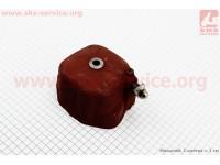 Крышка головки цилиндра (клапанов), чугунная R190N Тип №1 [ТАТА]
