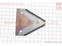 Сегментная косилка - Нож КСН-1,4 (сегментно-пальцевая) [Китай]