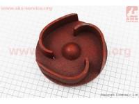 Рабочее колесо (крыльчатка) D=137mm, под резьбу М20mm, 3 лопасти, чугун [Китай]