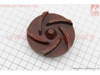 Рабочее колесо (крыльчатка) D=70mm, под резьбу М10mm, 5 лопастей, чугун [Китай]