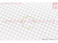 Кольцо упорное игольчатого подшипника d=36мм, D=41мм пластик  (300.41B.104) [Китай]