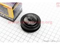 """Рулевые чашки 1-1/8"""" (44/28,6x44/30) без резьбовой вилки, полуинтегрированные, черный H115 [Neco]"""