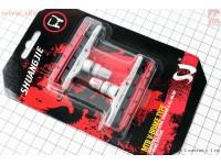 Тормозные колодки V-brake картриджные, сменный картридж к-кт, на блистере