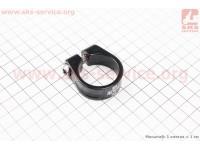 Зажим трубы сидения MTB 31,8мм (алюминиевой рамы), черный SC-200 [UNO]