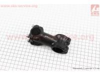 Вынос руля MTB алюминиевый 28,6x25,4х7°х70мм, черный AS-601