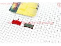 Тормозные колодки диск. тормоз к-кт (Shimano BR-M755, M755DH, XTR Pre-02, Grimeca system 8, Hope M4, Sram 9,0), YL-1010 [Andson]