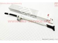 Насос алюминиевый высокого давления 300 psi/20.7 bar с манометром